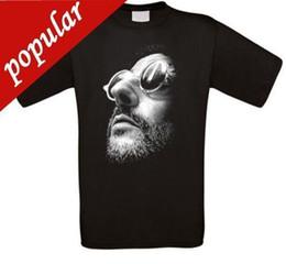 Großhandel 2018 Streetwear Kurzarm-T-Shirts Leon der Profi Jean Reno Natalie Portman ikonisches T-Shirt NEUER Anime-Freizeitkleidung