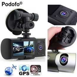 """$enCountryForm.capitalKeyWord Australia - Podofo New Dash Camera 2.7"""" Vehicle Car DVR Camera Video Recorder Dash Cam G-Sensor GPS Dual Lens Camera X3000 R300 Car DVRs"""