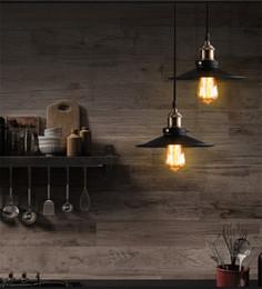E27 Light Holder Australia - Pendant Lights Vintage Industrial Retro Pendant Lamps Dining Room Lamp Restaurant Bar Counter Attic Lighting E27 Holder
