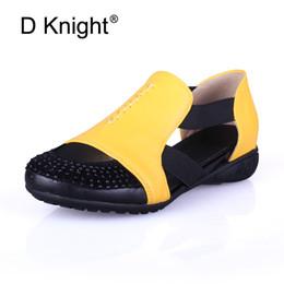 $enCountryForm.capitalKeyWord Canada - Summer Sandals Women 2018 Lady Yellow Red Shoes Woman Platform Flats Shoes Causal Rhinestone Sandals Roma Female Gladiator Shoes