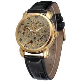 $enCountryForm.capitalKeyWord UK - WINNER Luxury Women Automatic Mechanical Watch Leather Strap Roman Number Skeleton Dial Watch Ladies Wholesale Wristwatch SLZ82