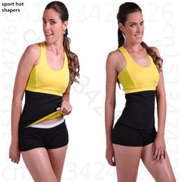 5606fc961a Hot Shapers women Fitness Neoprene waist tummy trainer waist cincher weight  loss slimming belt Trainer Corsets girdles girdles fitness on sale