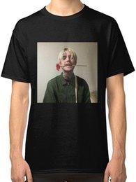 Venta al por mayor de Lil Peep camiseta negra para hombre, ropa, camiseta top, más tamaño, camiseta de harajuku, tops de verano, verano, camiseta divertida