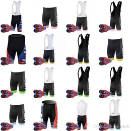 Lycra Sports NZ - 2018 New Hot LOTTO team Cycling bib pants 9D gel pad Gel Padded Racing Sport Quick Dry Lycra MTB Bike Clothing F2608