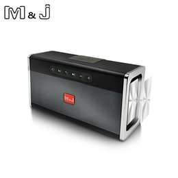 $enCountryForm.capitalKeyWord NZ - M&J Bluetooth Portable Speaker big power 10W system Wireless Soundbar Audio Receiver Mini Speakers USB AUX for Music MP3 Player