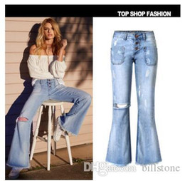$enCountryForm.capitalKeyWord Australia - Women Pencil Pants Beading Pearls Body Jeans Trousers Denim Tassel WS6892R
