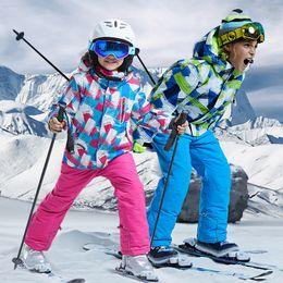$enCountryForm.capitalKeyWord NZ - Boys Snow Suits Kids Ski Jacket and Pants Children Snowboard Jacket and Pants Waterproof Trousers Kids Snow Coat Trousers