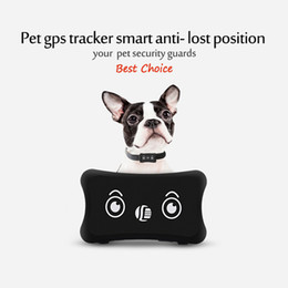 personal track 2019 - Mini Pet GPS Locator IP66 Waterproof Alarm Pet goods Personal Bag Tracker Real time Tracking GPS Tracker Positioning Tra