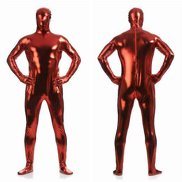 Xl Full Body Suits Australia - Adult Lycra Full Body Zentai Suit Custome For Halloween Men Second Skin Tight Spandex