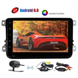 android car din vw 2019 - For VW Car Stereo Android 6.0 System Quad-core 1.6G Headunit 8'' Touchscreen Double din GPS Navigation Bluetoo