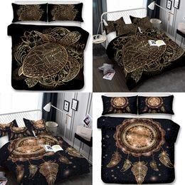 Ingrosso Turtle and Wind Chimes Bedding Set 3 pezzi Copripiumini Federa King Size All Size