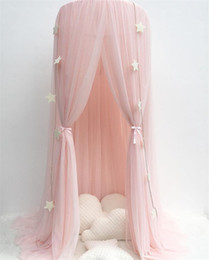 $enCountryForm.capitalKeyWord NZ - Princess Bed Pink Canopy Mosquito Net Yarn Play Tent Bedding for Kids Playing Reading Dome Netting Curtains Baby Boys and Girls Games Room