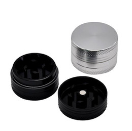 Chinese  Aluminum alloy metal smoke mill 30mm small cigarette lighter Grinder manufacturers