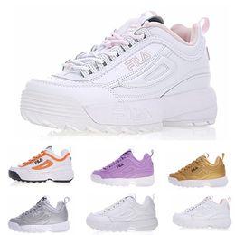 fc9cb6ec93cc Discount women shoes new arrivals - High quality Fashion Casual Dad shoes  Fila Women Running Shoes