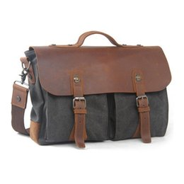 canvas briefcases dress man s business travel work hand solid coffee for  laptop stachel school college student chic fashion bag 20274233a2737
