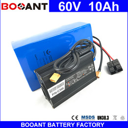 Motor Bicycles Australia - BOOANT 60V 10AH E-Bike Scooter Battery packs For Bafang 700W Motor Electric Bicycle Battery 18650 With 15A BMS 67.2V 5A Charger