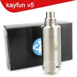 Kayfun rta atomizer online shopping - Kayfun v5 RTA rba atomizer Perfect flavor experience Available ss top filling High Quality KFV5 PK kayfun lite