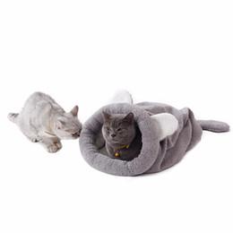 $enCountryForm.capitalKeyWord UK - Cute Cat Sleeping Bag Warm Dog Cat Bed Nest Pet Dog House Lovely Soft Pet Cat Mat Cushion
