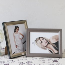 Wedding Gifts Photo Frames NZ - 10 inch Picture Frame Rectangle 5 Colors Family Photo Frames for Home Decor Wedding House Table Desk Decoration Desktop Gift for Friends