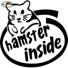 $enCountryForm.capitalKeyWord NZ - Wholesale Cute Hamster Inside Logo JDM Racing Vinyl Car Decal Sticker Drift Choose