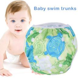 2e85523ec Pañales de tela para bebé Unisex Un tamaño impermeable ajustable Pañal de  natación Pantalón de piscina Pañal de natación Bebé Reutilizable Lavable  Cubierta ...