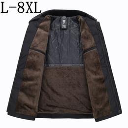 $enCountryForm.capitalKeyWord Canada - 2018 New Arrival Winter Jacket With Fleece Casual Fur Collar Parka Men Thick Warm Fashion Mens Winter Coat Plus Size 7XL 8XL