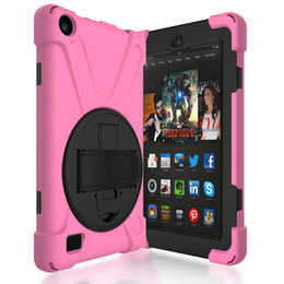 """$enCountryForm.capitalKeyWord NZ - Soft Hand Strap and Holder Cover for Kindle Fire 7"""" 8"""" Tablet Silicone Case for Kindle Fire HD +Pen"""