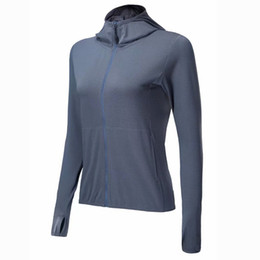 Chinese  Women Running Jacket Coat Sweaters Hoody Sports Jogging Jogger Training Fitness Exercise Shirt Gym T shirts Long Sleeve Hoodies manufacturers