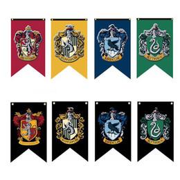 Decoração de Halloween Harry Potter Banners Bandeira Grifinória Bandeira Hogwarts Partido da faculdade Bandeira 75x125 cm casa Banner Bandeiras transporte rápido