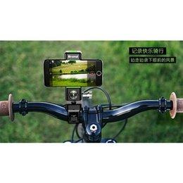 Nova bicicleta titular do telefone quadro de navegação à prova d 'água multi-função titular do telefone móvel bússola com luz suporte do carro elétrico