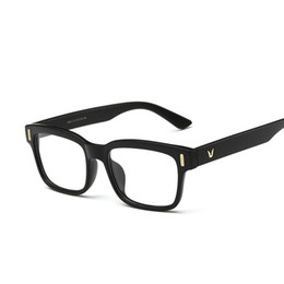 58534fd2bf NewV-Shaped Box Eyeglasses Frame Brand For Women Fashion Men Optical eye glasses  Frame Eyewear Oculos De Grau Armacao Femininos