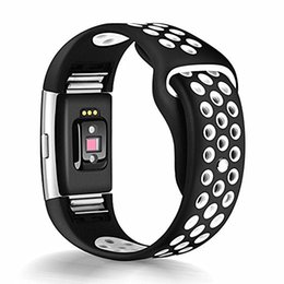 $enCountryForm.capitalKeyWord UK - ASHEI Sport Watch Strap For Fitbit Charge 2 Band Silicone Watchband Charge 2 HR Bracelet Wristband Accessories Bands Large Small