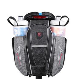 strip holders 2019 - Waterproof Bike Bicycle Bag Holder Reflective strip Design Bicycle Saddle Bag Cycling Bottle Storage Bags MTB Frame Pouc