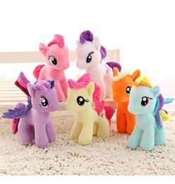 Venta al por mayor de DHL libre Nuevo muñeco de peluche de Unicornio 20cm peluche My Toy Collectiond Edición Plush enviar Ponies Spike juguetes como regalos para niños