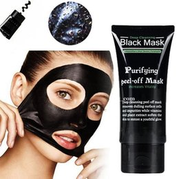 50g Shills Blackhead Remover Deep Facial Masks Deep Cleansing Purifying Peel Off Black Nud Makeup Remover Black Mask Silicone