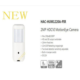 hdcvi cameras NZ - Free Shipping 2017 NEW Product 2MP HDCVI Motion Eye Camera without Logo HAC-HUM1220A-PIR