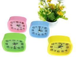 $enCountryForm.capitalKeyWord UK - 1PCS Mute Candy Colors Alarm Clocks Bedside Desk Table Kid Creat Gifts Square Portable Home Decor Random Send 10*8*4cm
