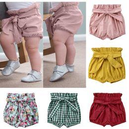 Infant Bloomers Australia - Pop Newborn Infant Baby Kids Girl Short Pants Bottoms Bloomers Panties Cotton summer Shorts 0-6T