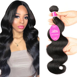 Real Peruvian Human Hair Closures Australia - body wave human hair bundles hairs Real person Hairs extension Virgin Bundles Peru Virgin Hair Bundles with Closures Natural color