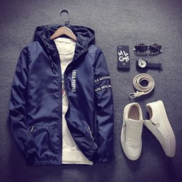 young clothes 2019 - In spring and autumn, young men wear thin jacket, fashion boy, hooded jacket, men's coat, hat, coat, men's clo