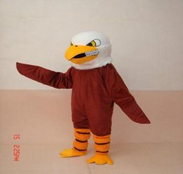 Professional Cartoon Costumes Australia - New Style Adult Cute BRAND Cartoon New Professional Brown Eagle Mascot Costume Fancy Dress Hot Sale Party costume Free Ship