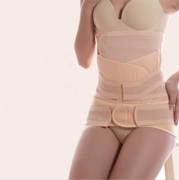 Discount pregnancy underwear - 3Pieces Set Maternity Postnatal Belt After Pregnancy bandage Belly Band waist corset Pregnant Women Slimming Shapers und