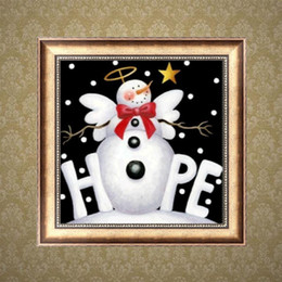 $enCountryForm.capitalKeyWord NZ - Xmas Hope Snowman DIY 5D Round Rhinestone Embroidery Diamond Painting Cross Stitch Kits Mosaic Drawing Home Decor Full Drill Christmas Gift