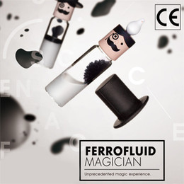$enCountryForm.capitalKeyWord Australia - Cylindrical Ferrofluid In A Bottle Anti Stress Toys Magnetic Liquid Ferrofluid Liquid Display Neodymium Magnet Office Toys