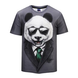 $enCountryForm.capitalKeyWord Canada - Summer 3D Printed T Shirt Men's Short Sleeve Tshirt Creative Panda Sir T-Shirt M-3XL plus size tops & tees BL-404