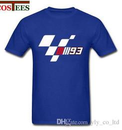 Venta al por mayor de Marc 93 Camiseta Moto GP marquez campeon camiseta Hombres Tops amantes de la motocicleta casual Tee verano hipster cool Hombre motogp T Shirts