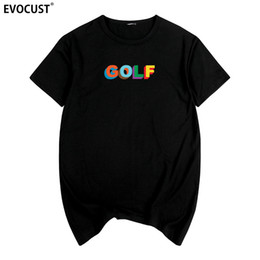 Golfed Wang Sk New 90th Tyler The Creator OFWGKTA Skate Frank Ocean Harajuku camiseta Cotton Men camiseta New TEE TSHIRT Womens