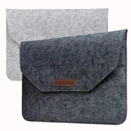 Macbook Retina 13 Inches Australia - Laptop Bag Macbook 11 12 13 15 inch Air Pro Retina Felt Bag Cover Sleeve Briefcase For Notebook Mac Pro Acer Asus Dell Lenovo HP opp bag