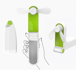 $enCountryForm.capitalKeyWord NZ - 2018 pocketrechargeable portable hand USB handheld mini fan folding fan products Chargeable USB electric fan wind adjustme