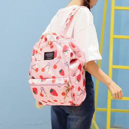 Cartoon Style Backpacks Australia - Japanese Style Harajuku Backpack Girl School Bags women Cute Cartoon ulzzang Travel shoulder bag Kawaii Rabbit printing Backpack